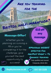 Massage offer- Training for the Bristol half-marathon- page 1